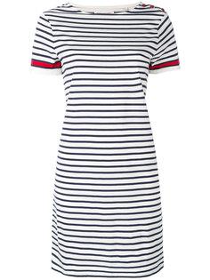 полосатое платье с короткими рукавами Chinti & Parker
