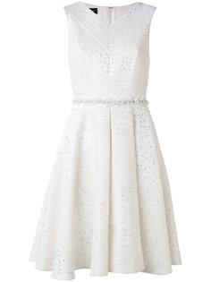 платье с пайетками Talbot Runhof