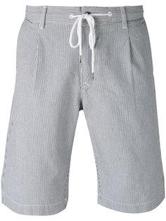 шорты бермуды в полоску Woolrich