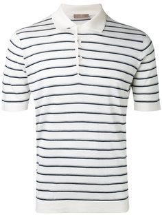 рубашка-поло в полоску Cruciani