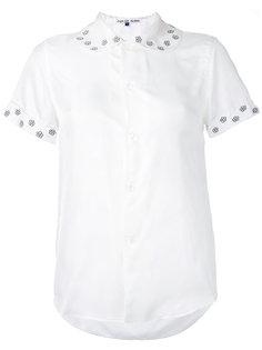 блузка с цветочной отделкой Jupe By Jackie