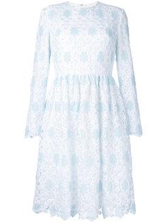 расклешенное кружевное платье Huishan Zhang