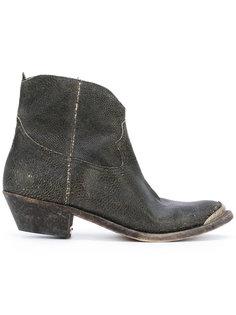 ковбойские ботинки с эффектом потертости Golden Goose Deluxe Brand