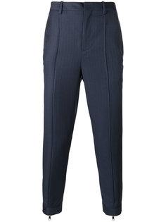 зауженные брюки с молниями снизу Neil Barrett