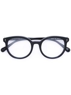 очки в круглой оправе Stella Mccartney Eyewear