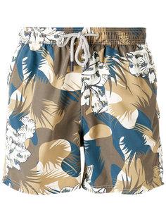 камуфляжные шорты для плавания Etro