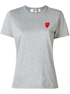 футболка с заплаткой-логотипом Comme Des Garçons Play