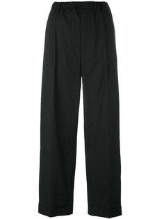 прямые брюки с заниженной проймой Lucio Vanotti