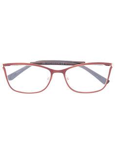 очки с квадратной оправой Jimmy Choo Eyewear