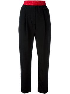 брюки с полосками по бокам Haider Ackermann