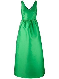 приталенное вечернее платье P.A.R.O.S.H.