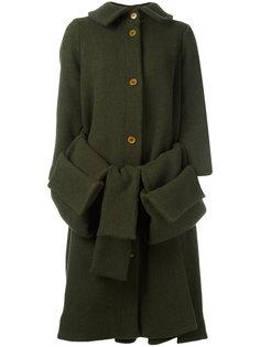 пальто с накладными карманами Post Henrik Vibskov