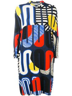 платье с рисунком Whoop Loop Henrik Vibskov