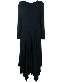 платье с поясом-завязками Henrik Vibskov