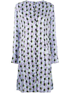платье-рубашка с узором Marni