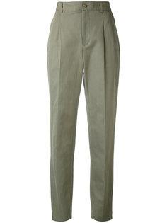 плиссированные брюки A.P.C.