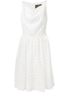 платье без рукавов с отделкой бахромой Vivienne Westwood Anglomania