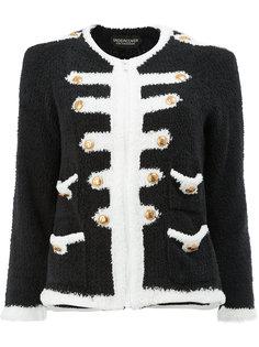 трикотажный пиджак в стиле милитари  Undercover