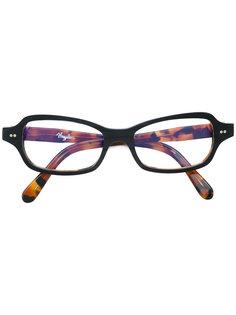 очки в прямоугольной оправе с леопардовым рисунком Vinylize