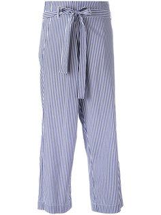 укороченные брюки в полоску  P.A.R.O.S.H.