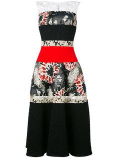 платье Konzert средней длины Talbot Runhof