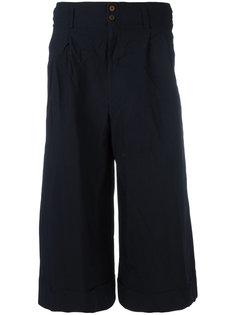 укороченные широкие брюки  Comme Des Garçons