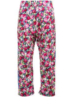широкие брюки с заниженным шаговым швом Les Animaux