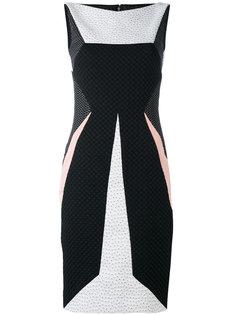 платье-футляр без рукавов Talbot Runhof