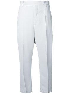 укороченные брюки с высокой талией Rick Owens