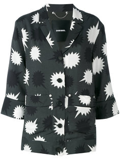 блузка с принтом звезд Diesel