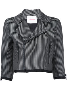 укороченная куртка в полоску A.F.Vandevorst