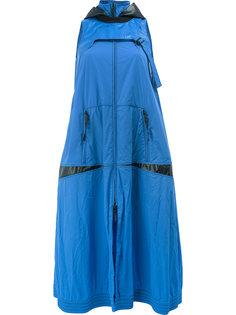 платье с капюшоном Paco Rabanne