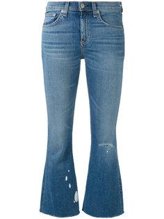 укороченные расклешенные джинсы Rag & Bone /Jean