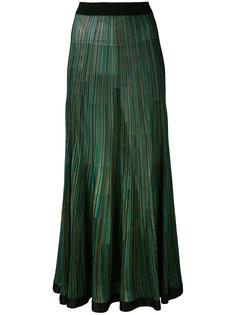 трикотажная длинная юбка Sonia Rykiel