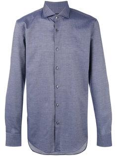 рубашка из ткани шамбре Boss Hugo Boss