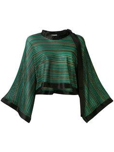 блузка с расклешенными рукавами Sonia Rykiel