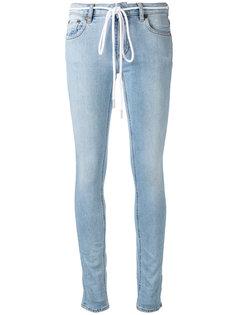 джинсы Diagonals  Off-White