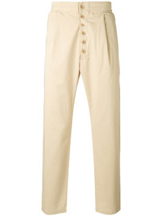 брюки прямого кроя Sunnei