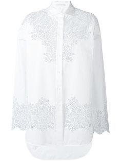 рубашка с резным цветочным узором  Ermanno Scervino