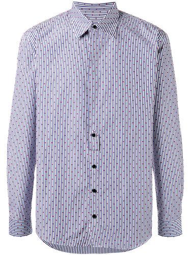 полосатая рубашка '4Ever' с узором из точек Henrik Vibskov
