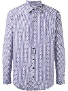 полосатая рубашка 4Ever с узором из точек Henrik Vibskov