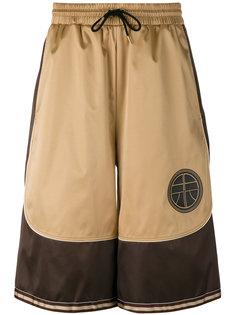 спортивные шорты с атласными панелями Astrid Andersen