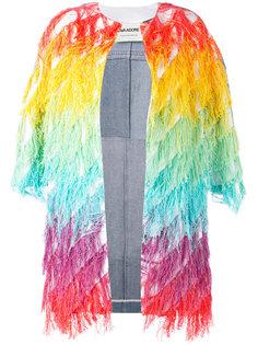 джинсовая куртка с бахромой Ava Adore