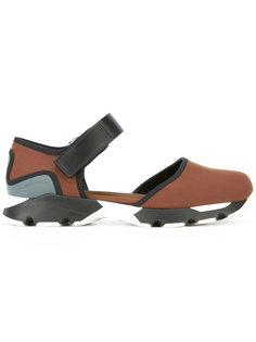 кроссовки из неопрена с ремешком Marni