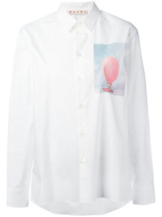 рубашка с принтом воздушного шара Marni