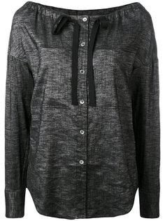 блузка с лентой Theory