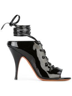 босоножки со шнуровкой на щиколотке Givenchy