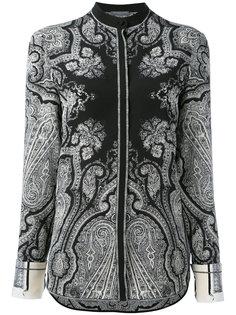 рубашка с цветочным узором Alexander McQueen