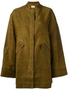 пальто с карманами Simon Miller