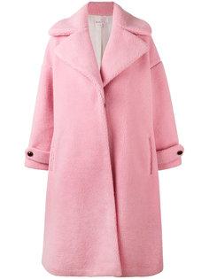 пальто с контрастными пуговицами Olympia Le-Tan